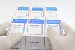 Все препараты проверяются на отсутствие повреждений и наличие защитных голограмм.